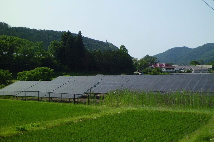 大迫太陽光発電所